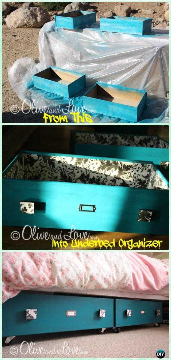8 obiecte drăguțe pe care le poți face dintr-un sertar vechi