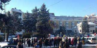 Protest al părinților în nepos, Bistrița Năsăud