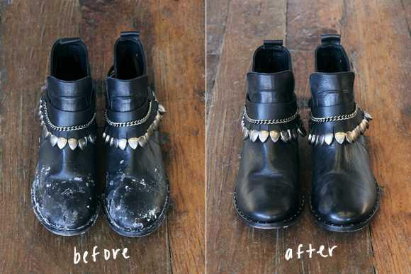 Cum îndepărtezi petele de sare de pe ghete și haine