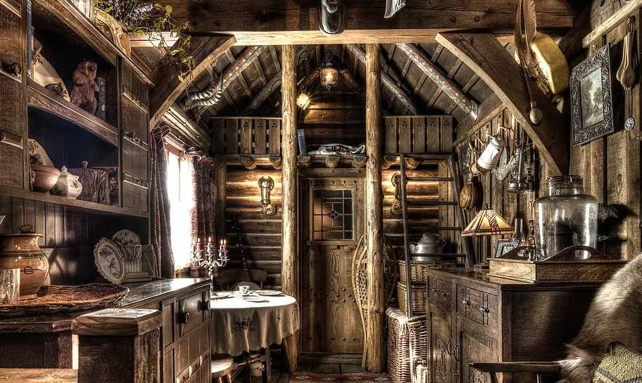 Cum arată o simplă casă, labirit de locaţii diverse din alte epoci