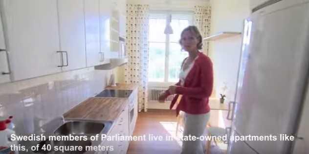 Inedit: Cum arată locuinţele unde stau parlamentarii din Suedia