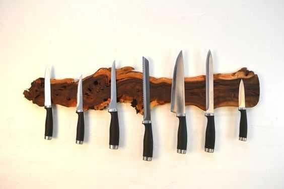 Cum faci un suport magnetic pentru cuţitele de bucătărie