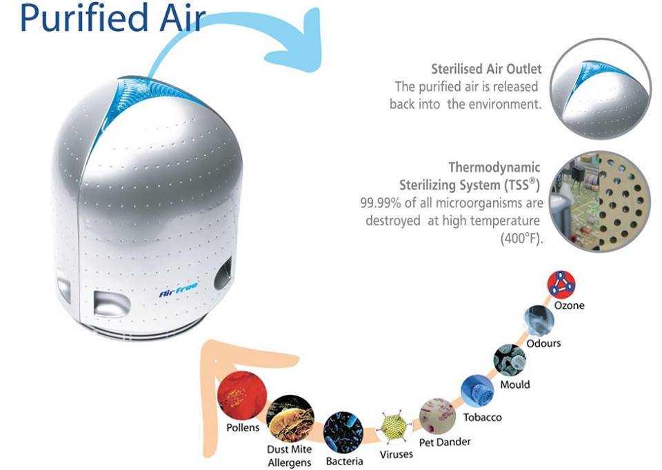 Cinci motive pentru a avea un purificator de aer în locuinţa ta