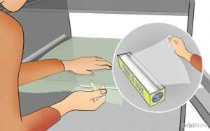 Frigiderul-curăţenie-folie-rapiditate