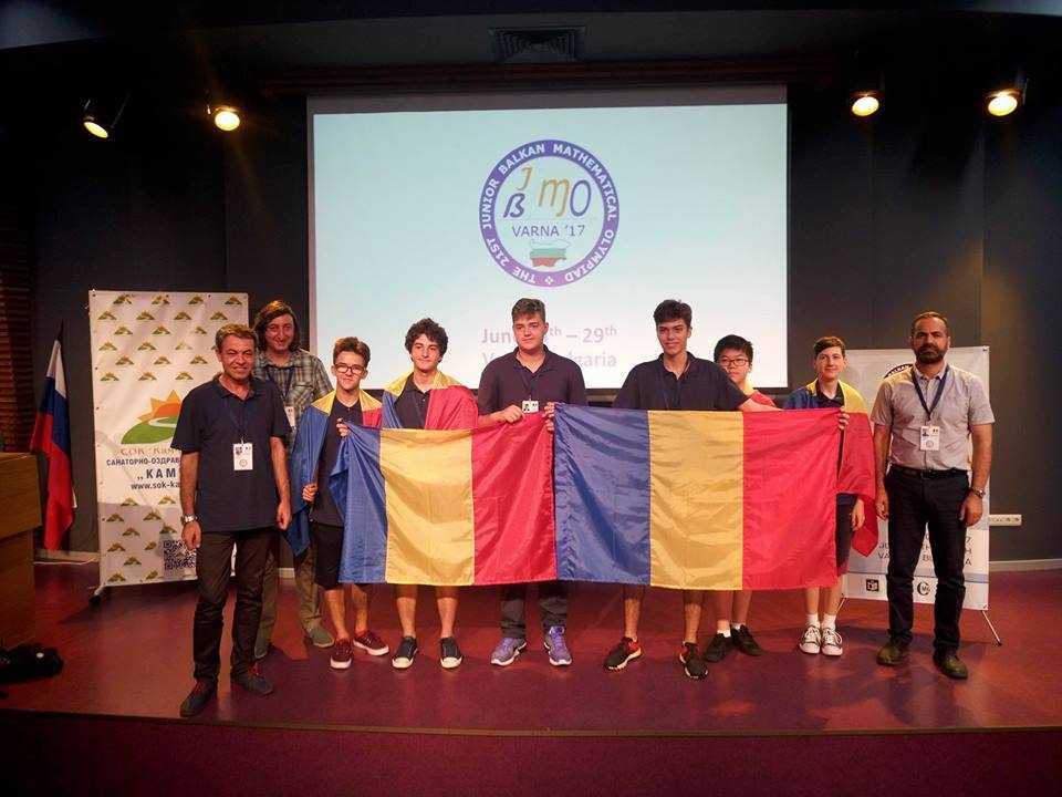 Olimpiadă Balcanică de Matematică pentru Juniori (JBMO 2017)