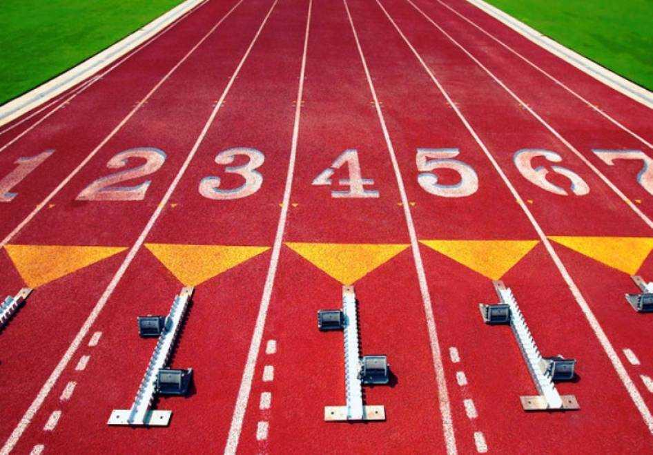 Decădere totală și la atletism