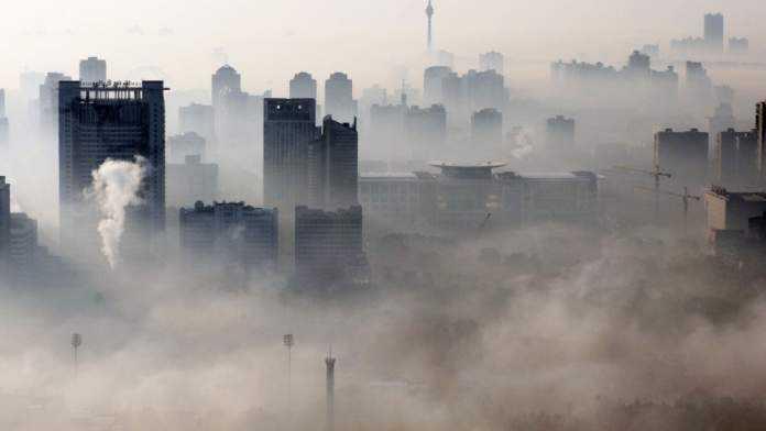 carbune poluare