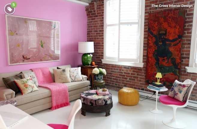 Cinci nuanţe care se potrivesc cu roz în orice cameră