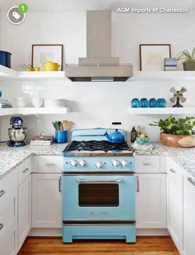 Șapte locuri ideale din bucătărie unde poți pune rafturi