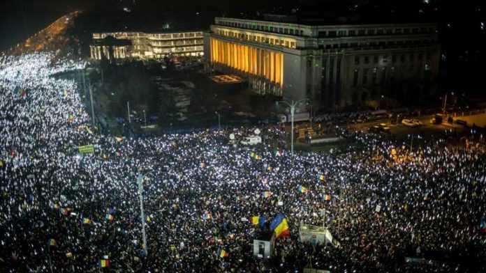 piata victoriei protest