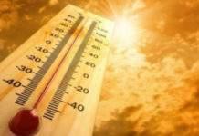 canicula, vreme calda