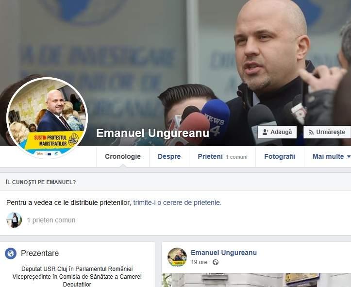 Deputatul Emanuel Ungureanu: Lumea se ferește de cuvântul sex