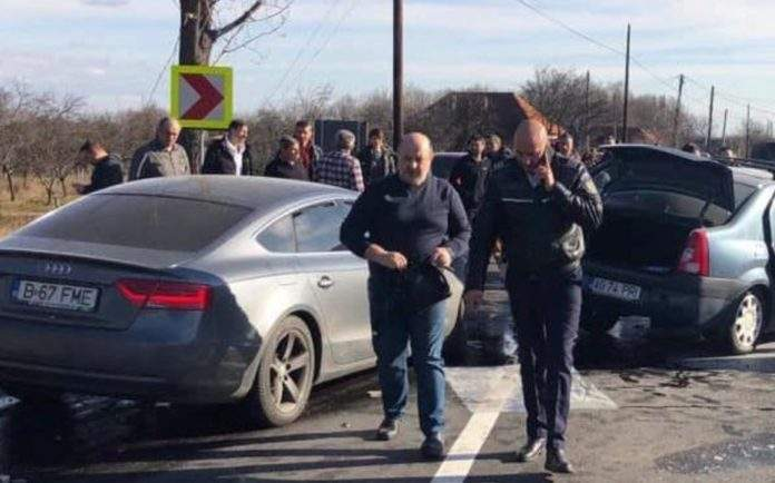 Danile Chițoiu pleacă în picioare după accident