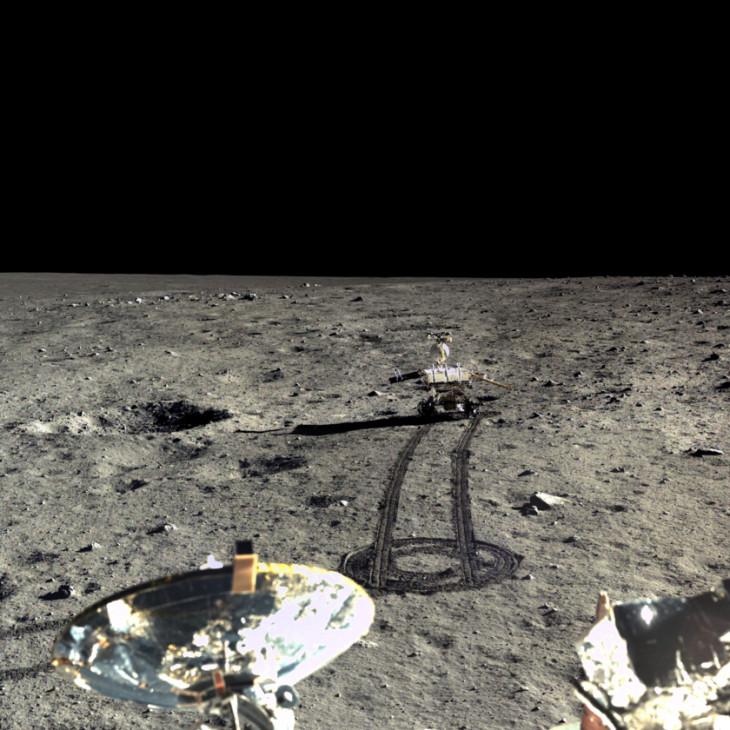 Sonda selenara chineză Chang'e-4 pe Lună
