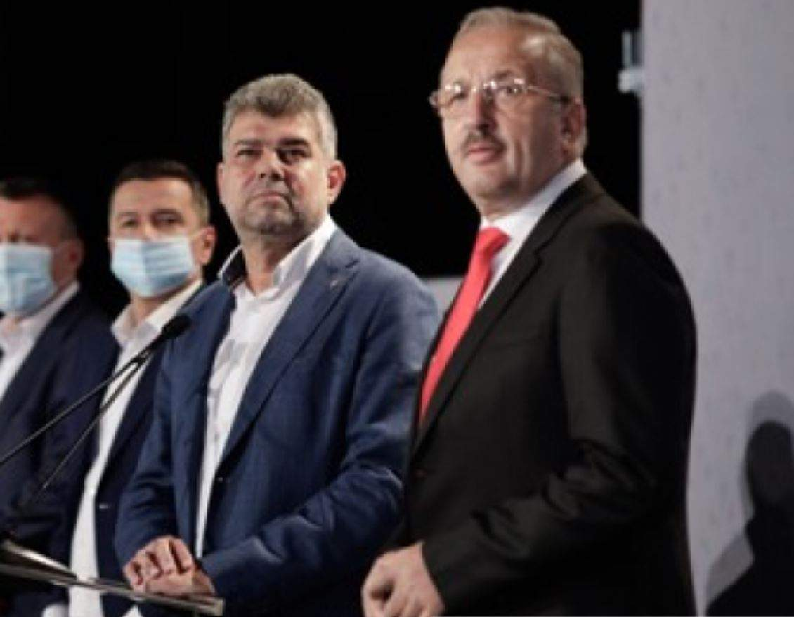 PSD a depus moţiunea de cenzură împotriva Guvernului Cîțu în Parlament