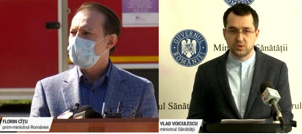 Foștii miniștri ai sănătății arată că au fost în centre de vaccinare, deși premierul a afirmat contrariul