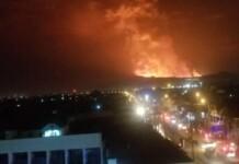 erupția vulcanului Nyiragongo
