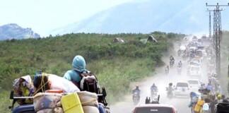 Criza umanitară, eruptie vulcan Nyiragongo, Congo