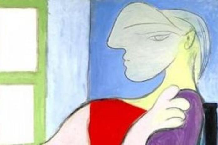 Femeie aşezată lângă fereastră, Picasso