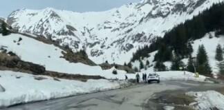 Transfagarasan, drum blocat