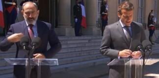 Nikol Paşinian, Emmanuel Macron