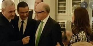 Dragnea, Trump, Giuliani