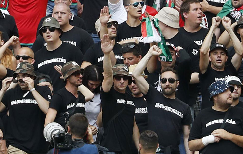 Ultrașii maghiari, acuzați de rasism