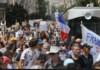 franta manifestatii permis sanitar