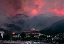 Incendii în Bodrum, Mugla