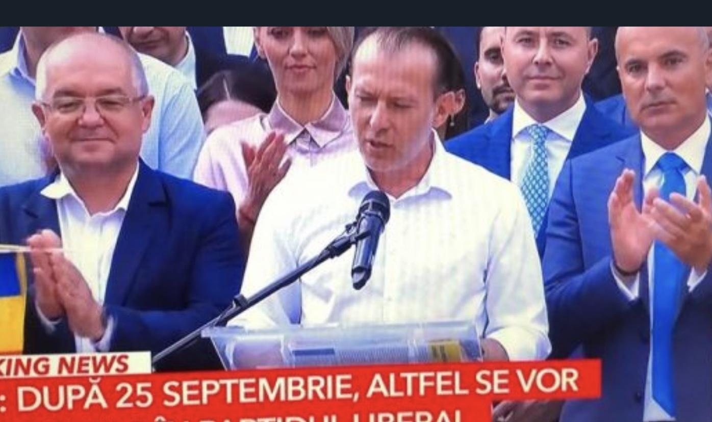 Stenograme: Liberalii, strâns uniți în spatele lui Florin Cîțu merg spre PSD