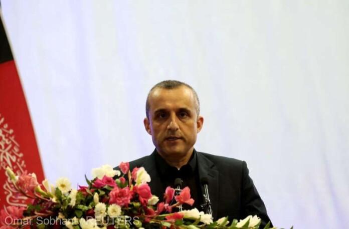 Prim-vicepreşedintele afgan Amrullah Saleh