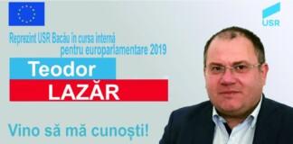 Deputatul USR PLUS Teodor Lazăr