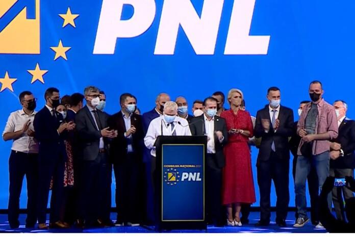 Rareş Bogdan, Iulian Dumitrescu, Lucian Bode şi Gheorghe Flutur, PNL