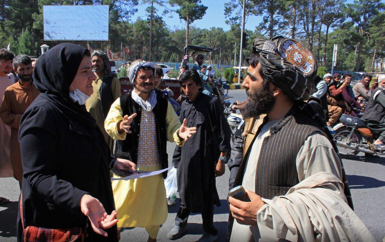 protest femei afgane Herat